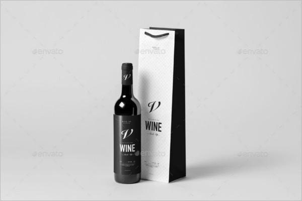 Bottle PSD Mockup Template