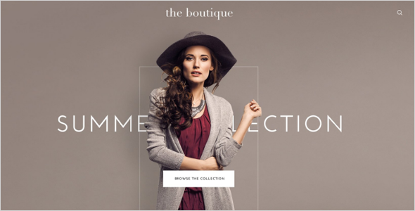 boutique ecommerce templates free premium themes