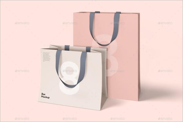 Box & Bag Mock-up Template