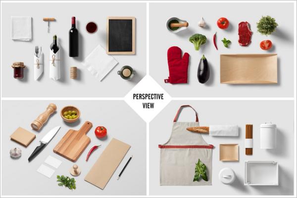 Branding Restaurant Mockup