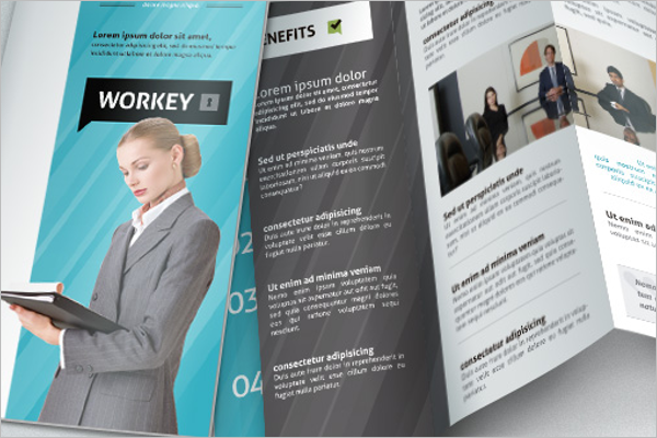 Brochure PSD Design Layout