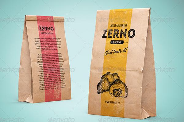 Brown Paper Bag Design