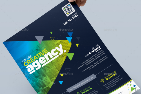 Business Advertising Poster Template