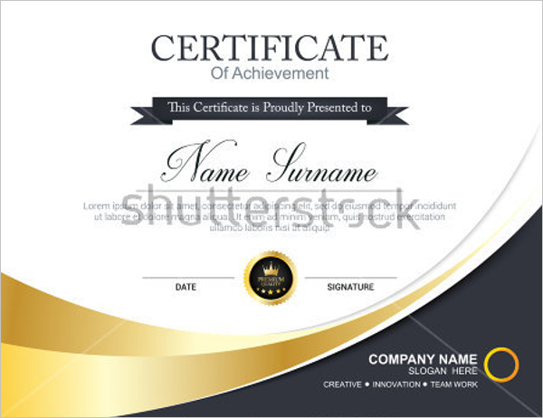 Business frame certificate template business frame certificate template cheaphphosting Images