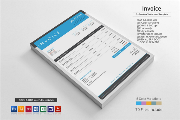 Business Invoice Proposal Template