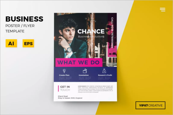 Business Poster Design Template