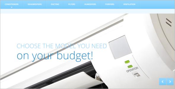 Business Services Megento Theme