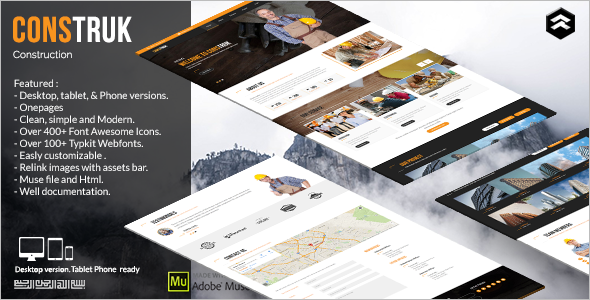 Business Speciality Pages HTML Template