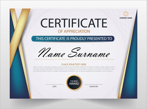 Business certificate templates free premium download business certificate template word wajeb Image collections
