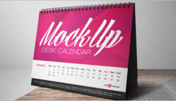 Calendar Mock Up Templates