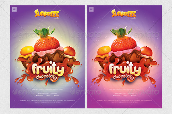 Candy Creative Poster Design