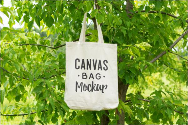 Canvas Bag Mockup Design