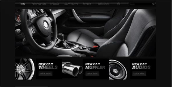 Car Auto Parts ZenCart Template