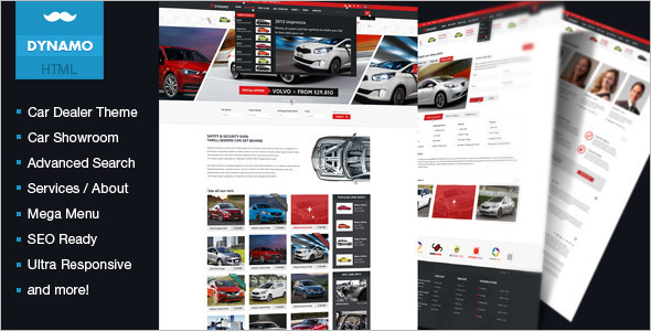 Car Dealer Responsive Joomla