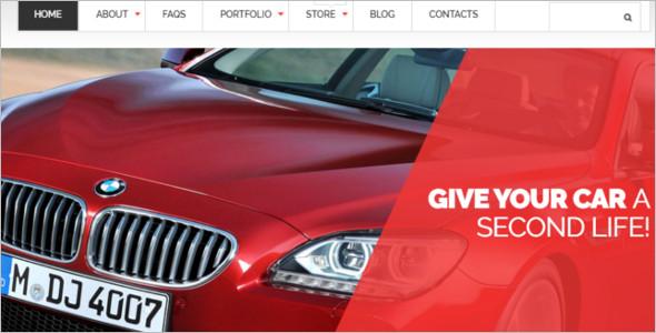 Car Parts Store WooCommerce Theme