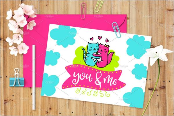 Card Creative poster Design