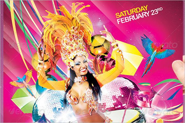 Carnival Club Flyer