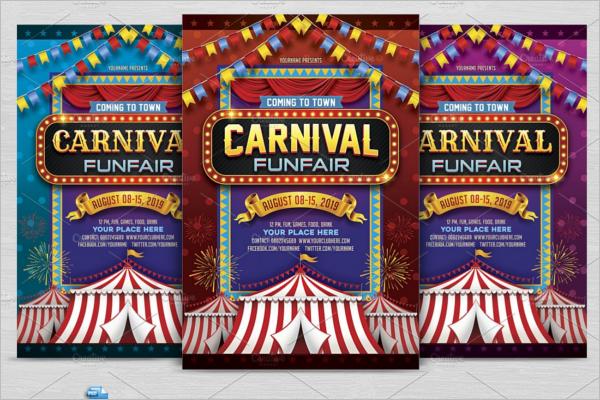 Carnival Flyer Design