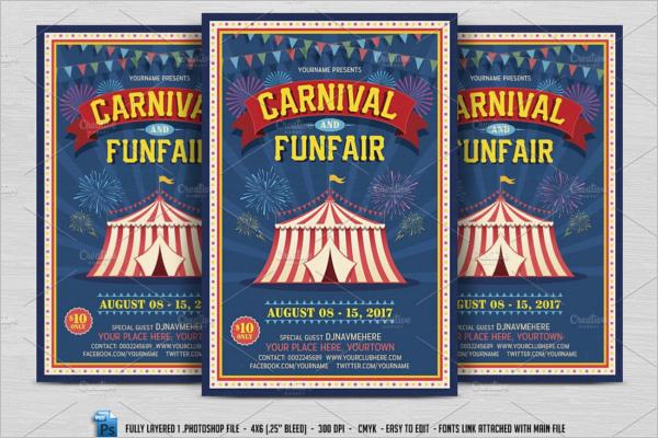 Carnival Fun Fair Flyer