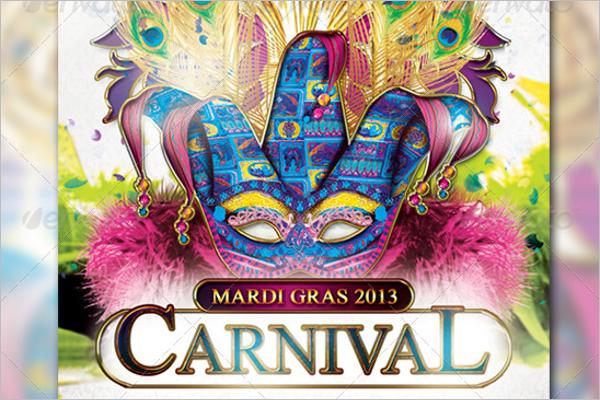 Carnival PSD Flyer