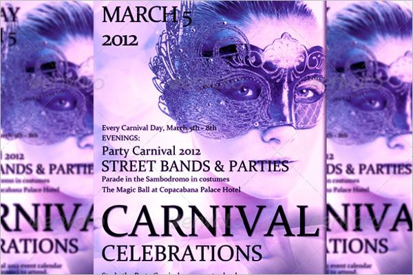 Carnival brand Flyer