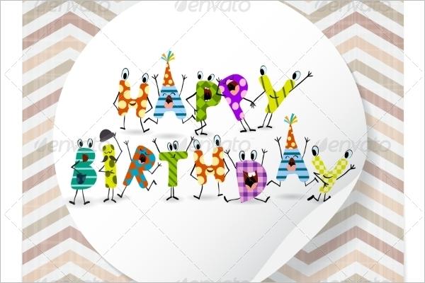 Cartoon Greeting Card Design