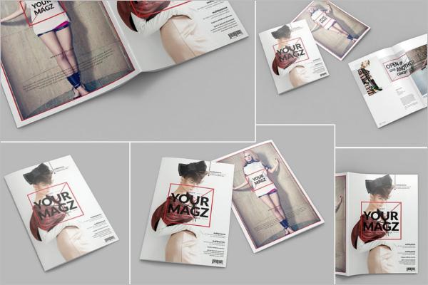 Catalog PSD Mockup Design