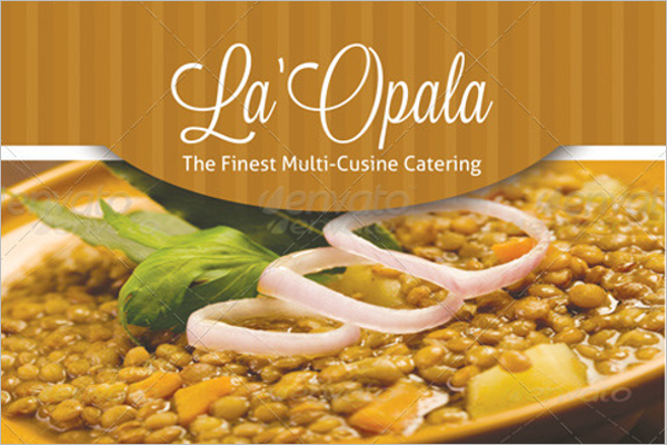 Catering Flyer PSD Template