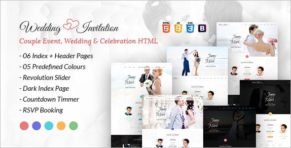 Celebration HTML Template