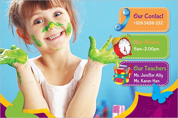 Childcare Nursery Flyer