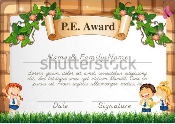 Children Certificate In PDF