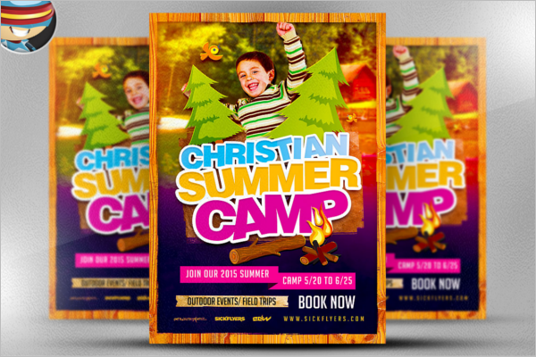 Christian Summer Flyer Template