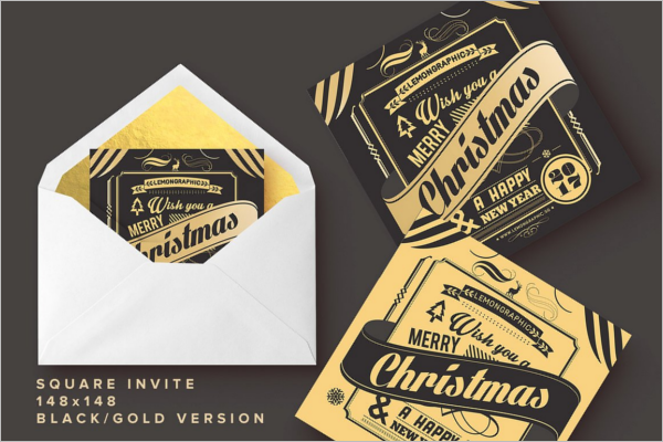Christmas Card Flyer Design