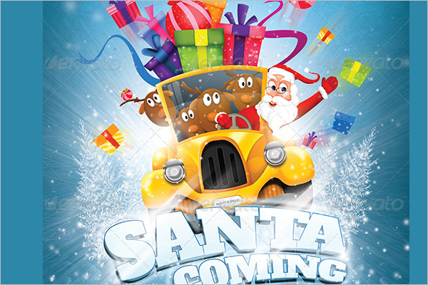 Christmas Creative Poster Design