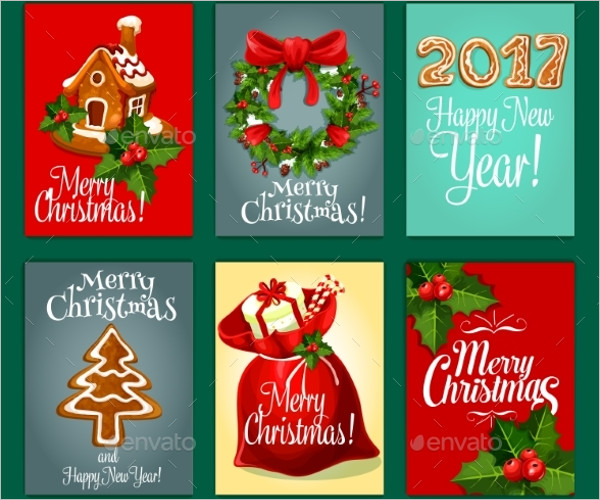 Christmas Gifts Card Design