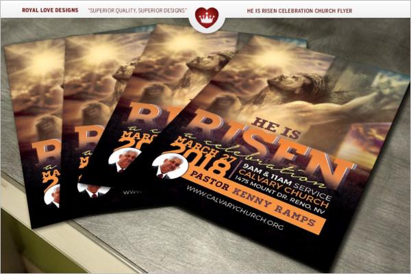 Church Celebration Flyer Design 2018