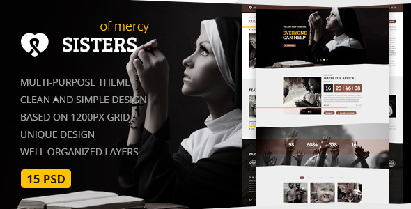 Church Environmental Joomla Template