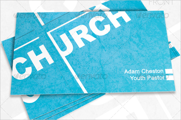 Church Event Business Card