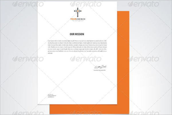 Church Logo Business Card