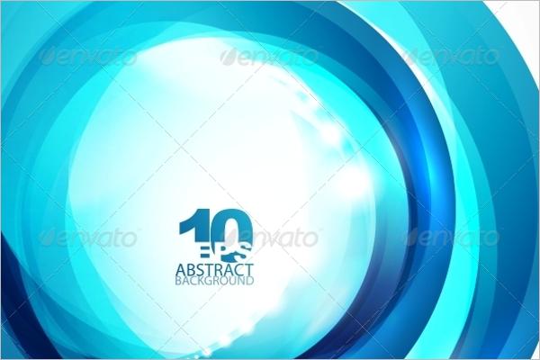 Circle BCircle Blue Wave Backgroundlue Wave Background
