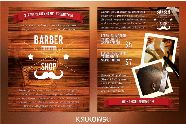 City Type Barber Shop Template