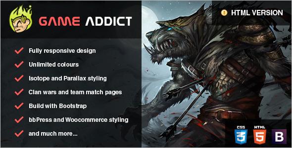 Clan War Gaming WooCommerce Theme