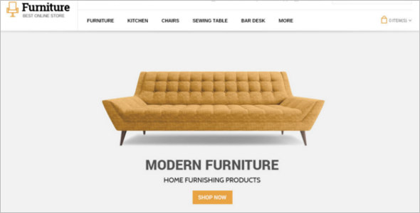 Classic Furniture Opencart Theme