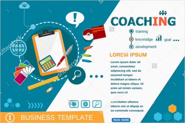 Coaching Tutorial Flyer Design