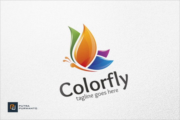 Colorfly Logo Template
