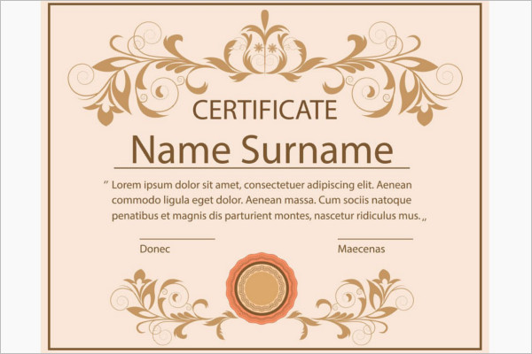 ColorfulBlank Certificate Template
