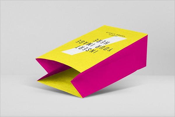 Colorful Paper Bag Design