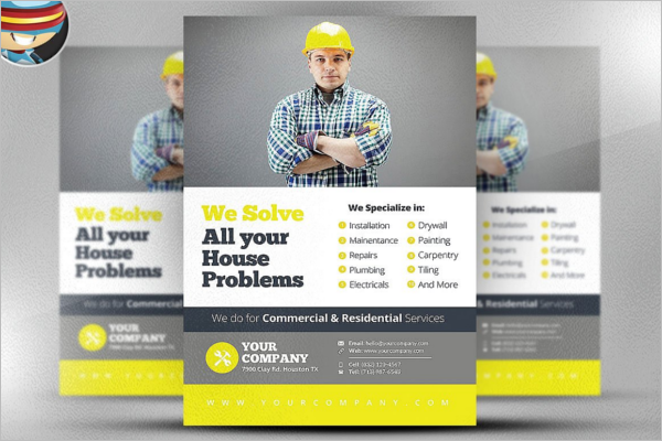 Commercial Flyer Template