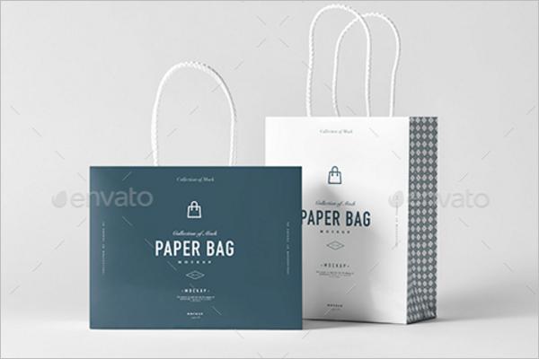 Commercial Mockup Bag Design