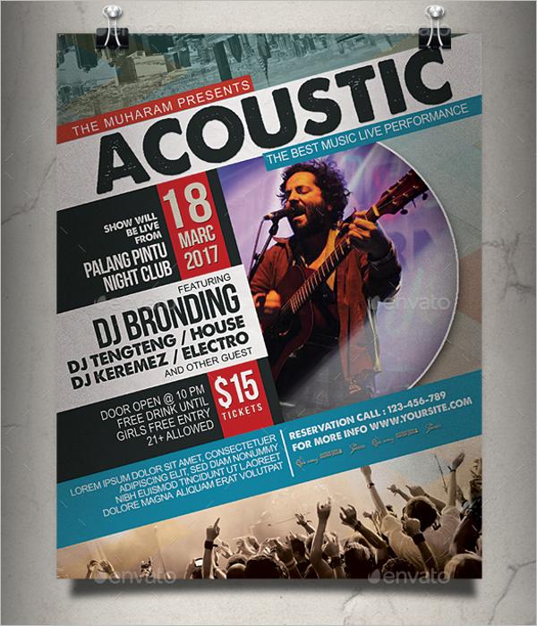 47 music poster templates free premium psd designs concert poster template maxwellsz